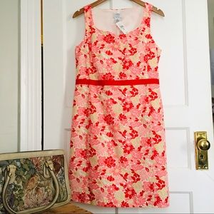 NWT Ann Taylor Loft Summer Floral Dress!